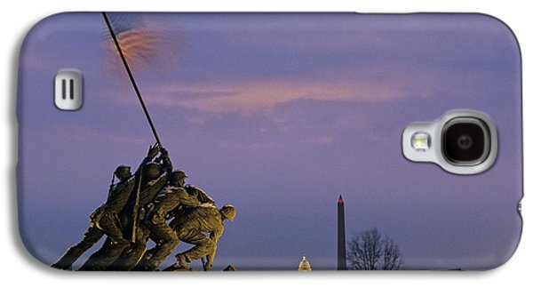 View Of The Iwo Jima Monument Galaxy S4 Case