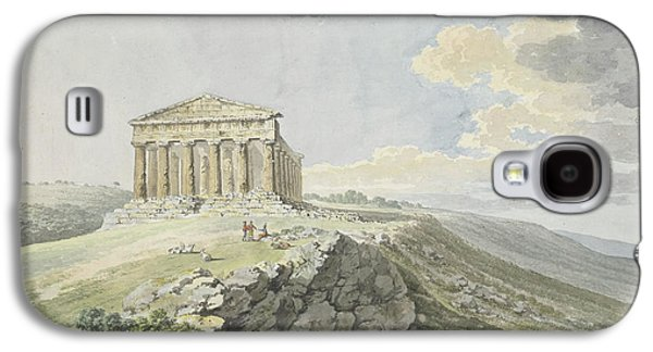View Of The Temple Of Concord At Agrigento Galaxy S4 Case by MotionAge Designs