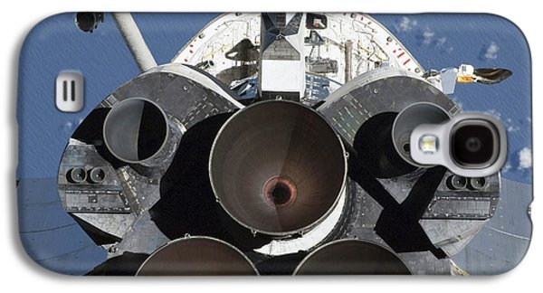 Aft Galaxy S4 Cases - View Of The Three Main Engines Of Space Galaxy S4 Case by Stocktrek Images