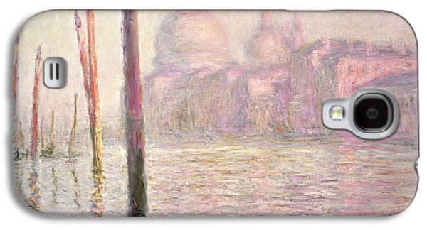 View Of Venice Galaxy S4 Case by Claude Monet