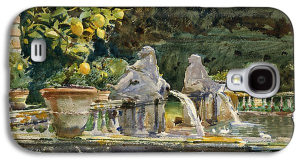 Villa Di Marlia Lucca A Fountain Galaxy S4 Case by John Singer Sargent