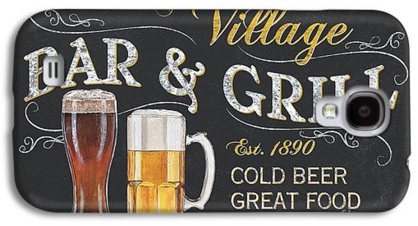 Village Bar And Grill Galaxy S4 Case by Debbie DeWitt