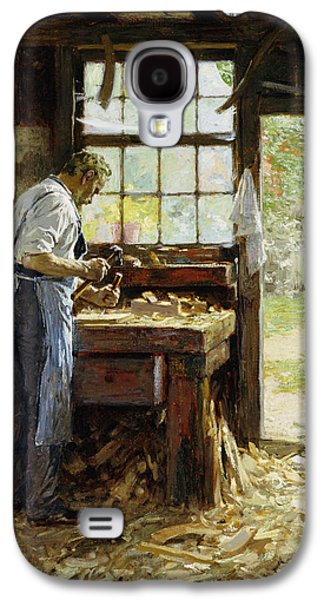 Village Carpenter Galaxy S4 Case by Edward Henry Potthast