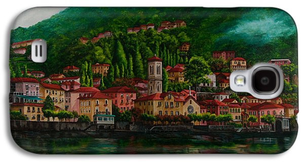 Village View On Lake Como  Galaxy S4 Case