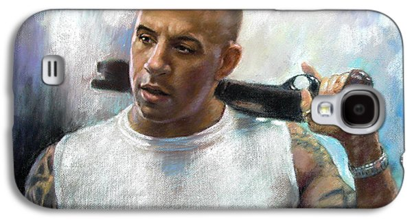 Vin Diesel Galaxy S4 Case by Ylli Haruni