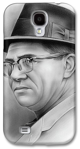 Vince Lombardi Galaxy S4 Case by Greg Joens