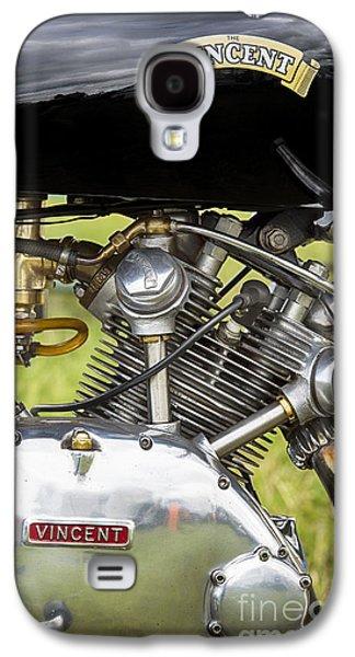 Vincent Comet Motorcycle Engine Galaxy S4 Case