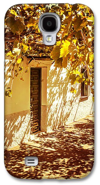 Vine-covered Patio. Andalusia. Spain Galaxy S4 Case by Jenny Rainbow