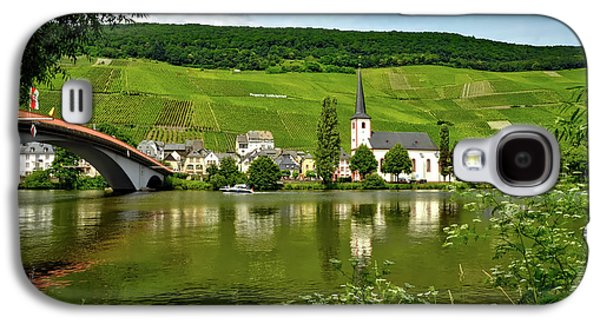 Vineyard Along The Moselle River Galaxy S4 Case