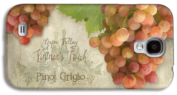 Vineyard - Napa Valley Vintner's Touch Pinot Grigio Grapes  Galaxy S4 Case