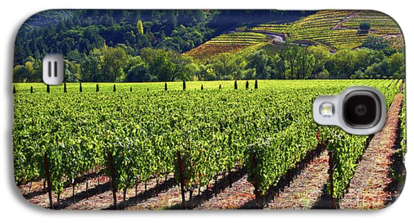 Vineyards In Sonoma County Galaxy S4 Case