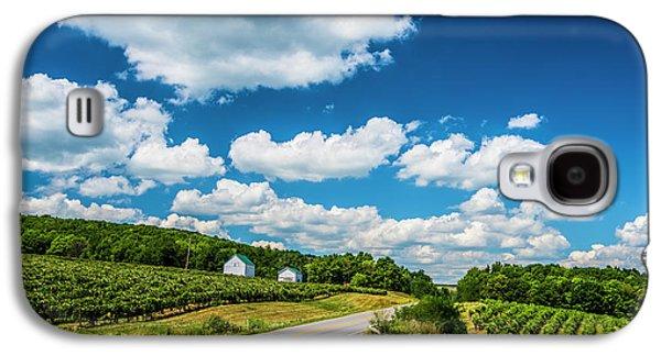 Vineyards In Summer Galaxy S4 Case