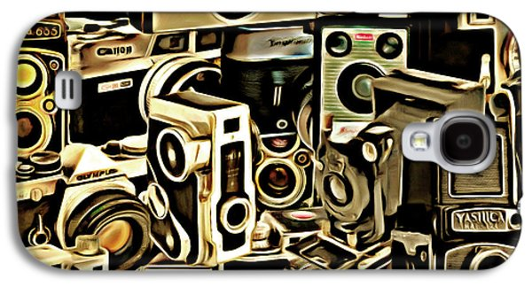 Vintage Abstract Photography 20150208 V1 Square Galaxy S4 Case by Home Decor
