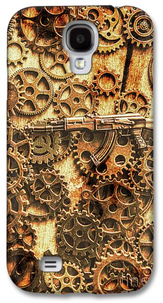 Vintage Ak-47 Artwork Galaxy S4 Case