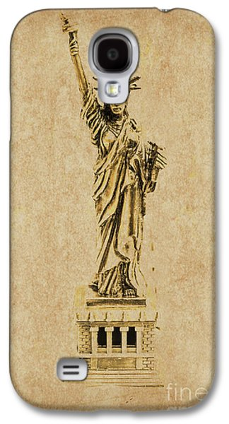 Vintage America Galaxy S4 Case by Jorgo Photography - Wall Art Gallery