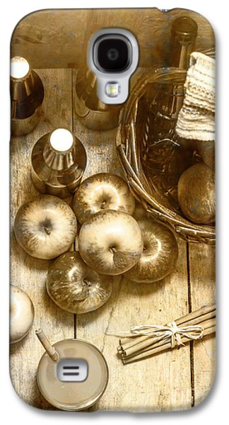 Vintage Apple Cider On Wood Crate Galaxy S4 Case