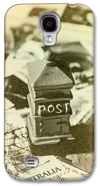 Vintage Australian Postage Art Galaxy S4 Case by Jorgo Photography - Wall Art Gallery