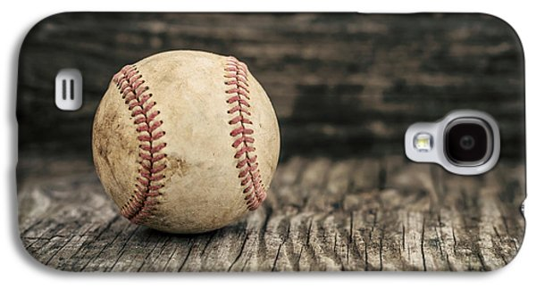 Vintage Baseball Galaxy S4 Case by Terry DeLuco