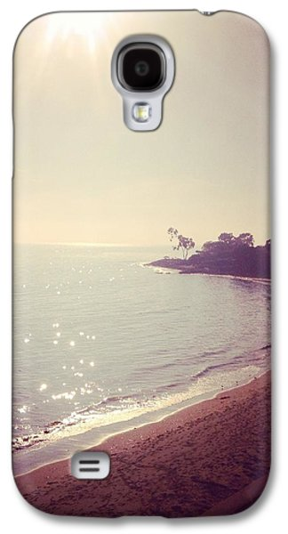 Vintage Beach Cove Galaxy S4 Case