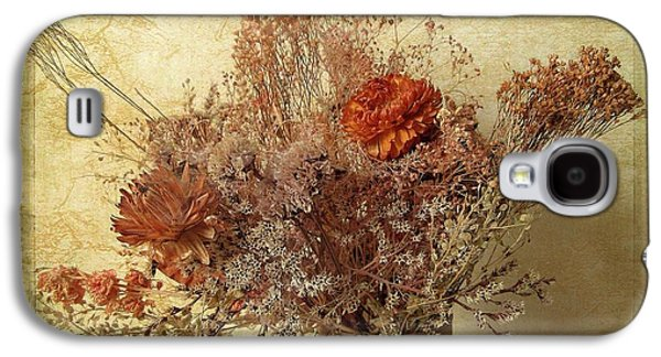 Galaxy S4 Case featuring the photograph Vintage Bouquet by Jessica Jenney