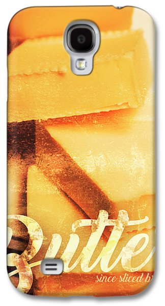 Vintage Butter Advertising. Kitchen Art Galaxy S4 Case by Jorgo Photography - Wall Art Gallery
