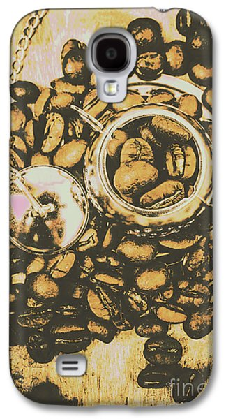 Vintage Cafe Artwork Galaxy S4 Case by Jorgo Photography - Wall Art Gallery