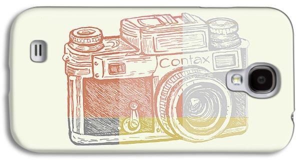 Vintage Camera 2 Galaxy S4 Case by Brandi Fitzgerald