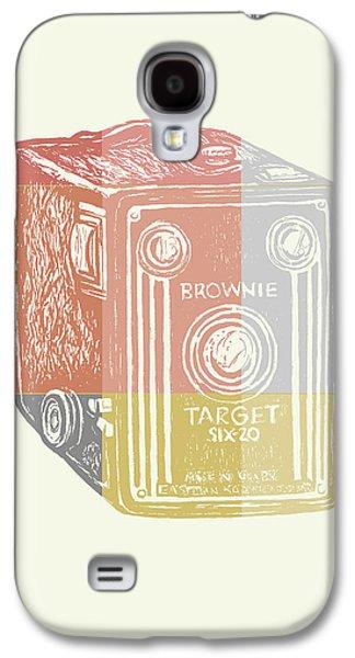 Vintage Camera 3 Galaxy S4 Case by Brandi Fitzgerald