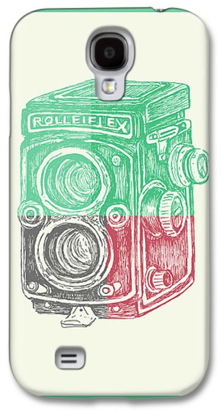 Vintage Camera Color Galaxy S4 Case by Brandi Fitzgerald