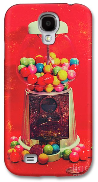Vintage Candy Store Gum Ball Machine Galaxy S4 Case by Jorgo Photography - Wall Art Gallery
