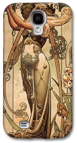 Vintage Champagne Ad Galaxy S4 Case