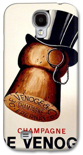 Vintage Champagne Galaxy S4 Case