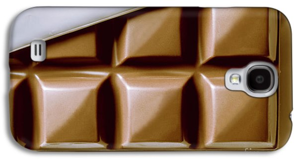 Vintage Chocolate Block Macro Galaxy S4 Case by Jorgo Photography - Wall Art Gallery