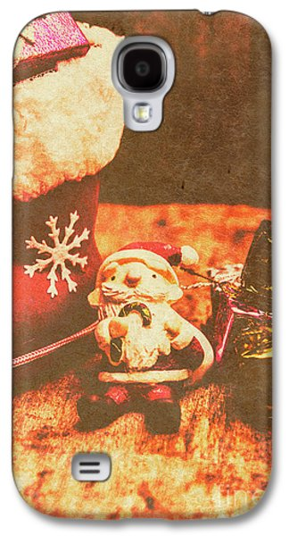Vintage Christmas Art Galaxy S4 Case by Jorgo Photography - Wall Art Gallery