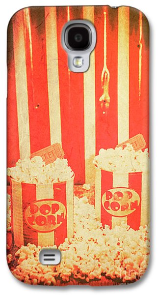 Vintage Classical Cinema Interval Concept Galaxy S4 Case by Jorgo Photography - Wall Art Gallery