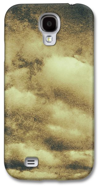 Vintage Cloudy Sky. Old Day Background Galaxy S4 Case