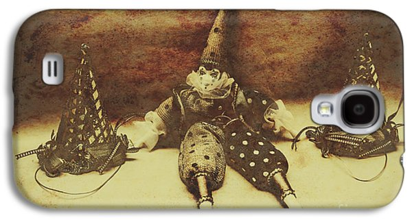 Vintage Clown Doll. Old Parties Galaxy S4 Case