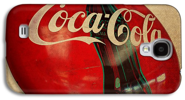 Vintage Coca Cola Sign Galaxy S4 Case by Design Turnpike