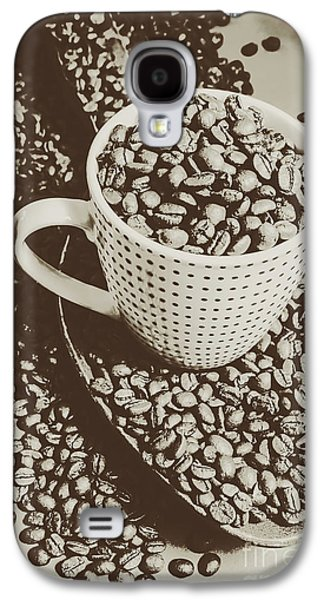 Vintage Coffee Art. Stimulant Galaxy S4 Case by Jorgo Photography - Wall Art Gallery