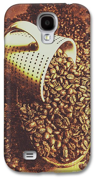 Vintage Coffee Shop Scene Galaxy S4 Case by Jorgo Photography - Wall Art Gallery