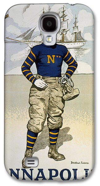 Vintage College Football Annapolis Galaxy S4 Case by Pd