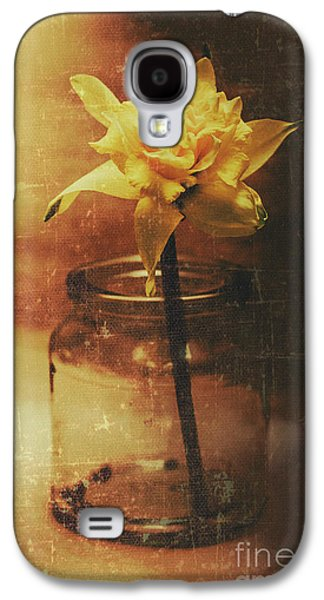 Vintage Daffodil Flower Art Galaxy S4 Case by Jorgo Photography - Wall Art Gallery