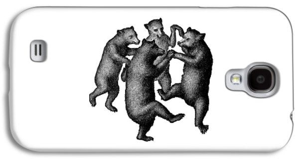 Vintage Dancing Bears Galaxy S4 Case