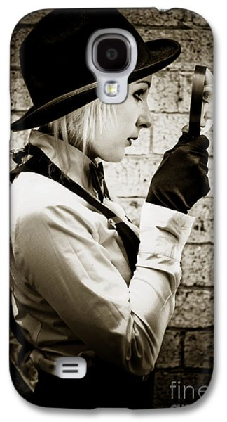Vintage Detective Galaxy S4 Case by Jorgo Photography - Wall Art Gallery