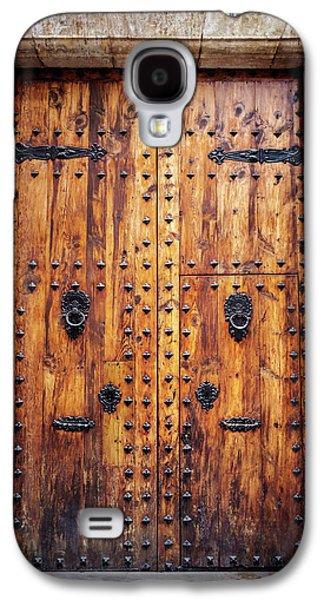 Vintage Door In Valencia Spain  Galaxy S4 Case