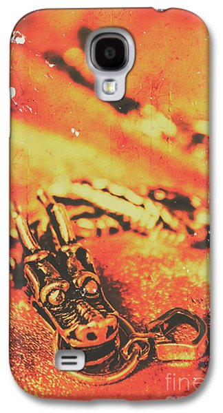 Dragon Galaxy S4 Case - Vintage Dragon Charm by Jorgo Photography - Wall Art Gallery