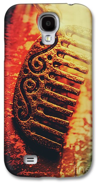 Vintage Egyptian Gold Comb Galaxy S4 Case by Jorgo Photography - Wall Art Gallery