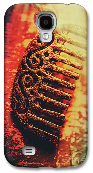 Vintage Egyptian Gold Comb Galaxy S4 Case
