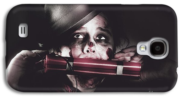 Vintage Evil Dead Terrorist With Explosives Galaxy S4 Case by Jorgo Photography - Wall Art Gallery