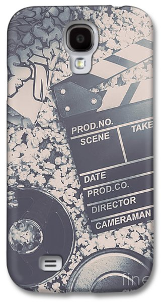 Vintage Film Production Galaxy S4 Case by Jorgo Photography - Wall Art Gallery